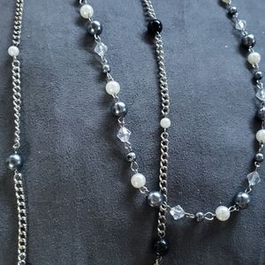 Jewelry - 3/$15 - Layered Faux Pearl Necklace